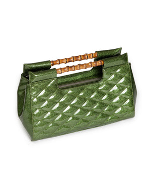 Mai Tai Clutch Martini Green Sparkle - Mini Atomic Totes