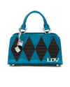 Mini High Roller Tote Endless Sea Sparkle with Black Matte - Mini Atomic Totes