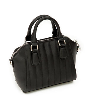 Matte Black Mini Lady Vamp Handbag - Mini Atomic Totes