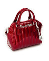Mini Lady Vamp Tote Crimson Red Sparkle - Mini Atomic Totes