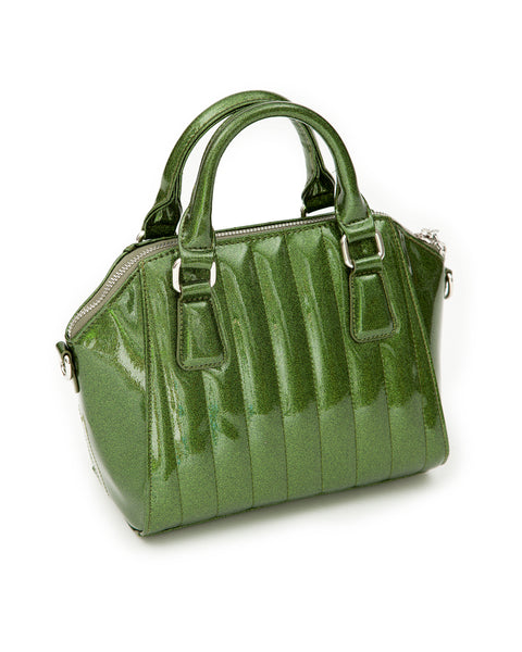 Mini Lady Vamp Tote Martini Green Sparkle - Mini Atomic Totes