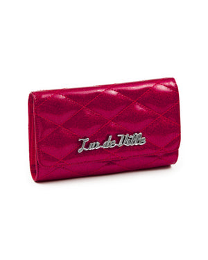 Route 66 Wallet Razzberry Sparkle - Mini Atomic Totes