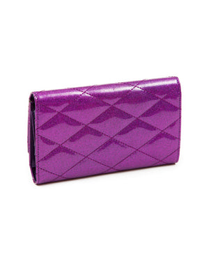 Route 66 Wallet Electric Purple Sparkle - Mini Atomic Totes
