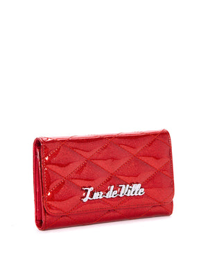 Route 66 Wallet Venom Red Sparkle - Mini Atomic Totes