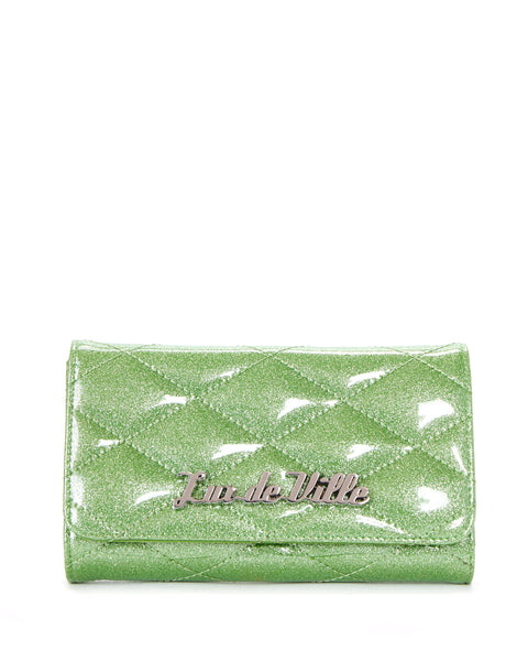 Route 66 Wallet Emerald City Sparkle - Mini Atomic Totes