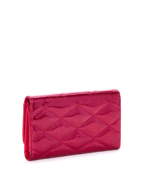 Hot Rod Wallet Sizzle Pink Sparkle - Mini Atomic Totes