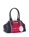 V8 Kiss Lock Black Matte with Sizzle Pink Sparkle - Mini Atomic Totes