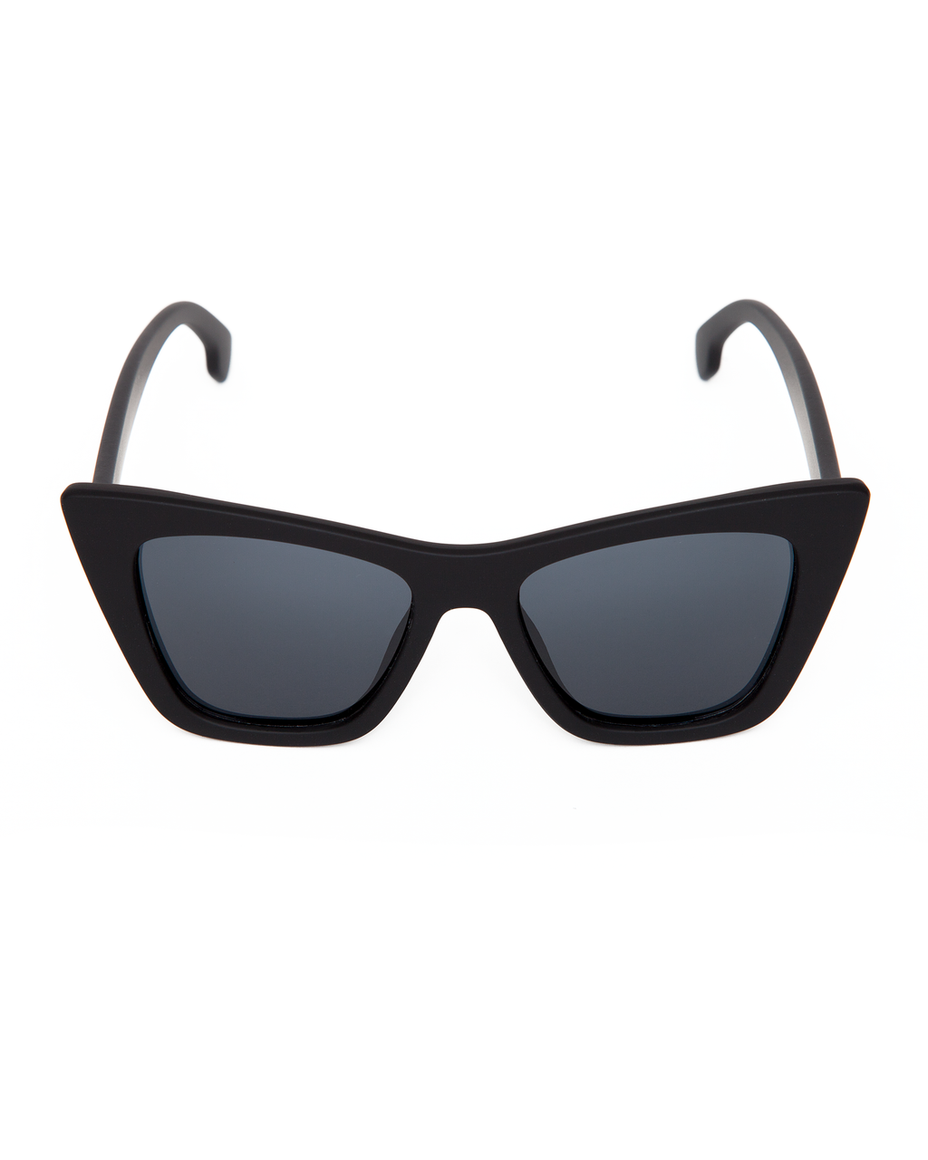 Bewitched Sunglasses Matte Black Frame with Black Smoke Lens - Mini Atomic Totes