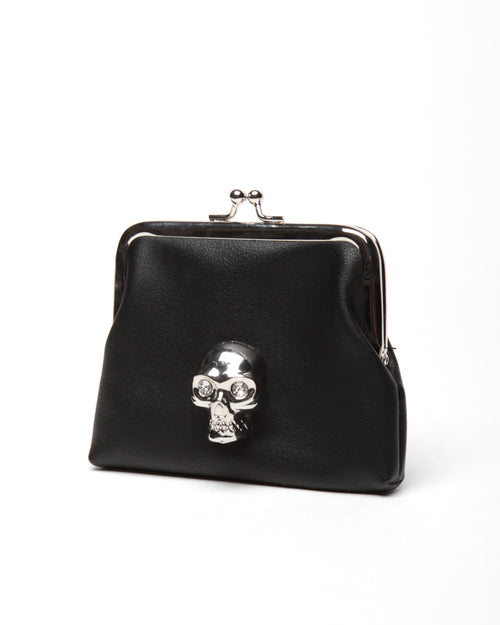 Lady Vamp Coin Purse Black Matte - Mini Atomic Totes
