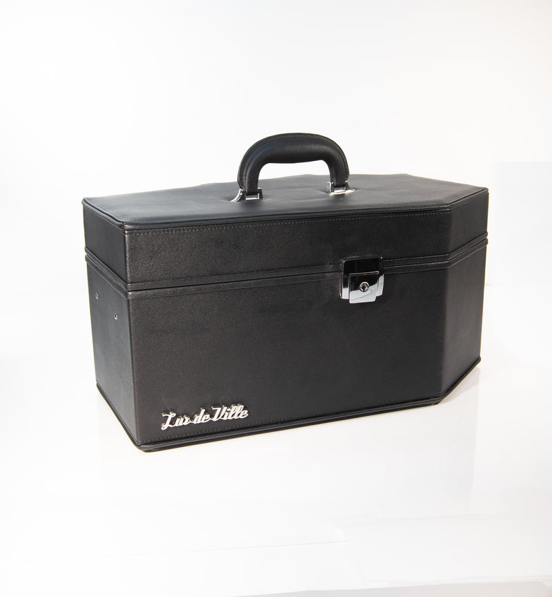 Super Crypt Coffin Case Black Matte - Mini Atomic Totes