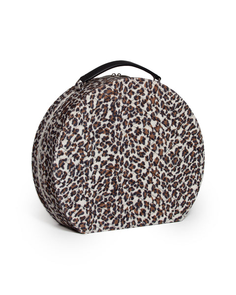 Rockwell Jet Set Box Leopard - Mini Atomic Totes