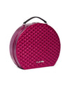 Rockwell Jet Set Box Sizzle Pink Sparkle - Mini Atomic Totes