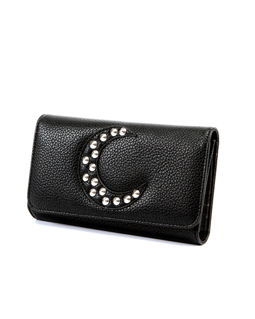 Dark Moon Wallet Black - Mini Atomic Totes