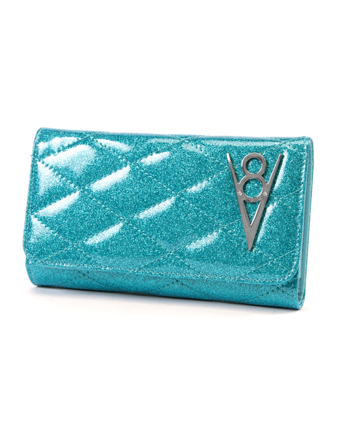 Hot Rod Wallet Villain Blue Sparkle - Mini Atomic Totes