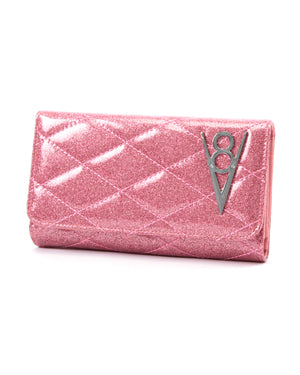 Hot Rod Wallet Pink Bubbly Sparkle - Mini Atomic Totes