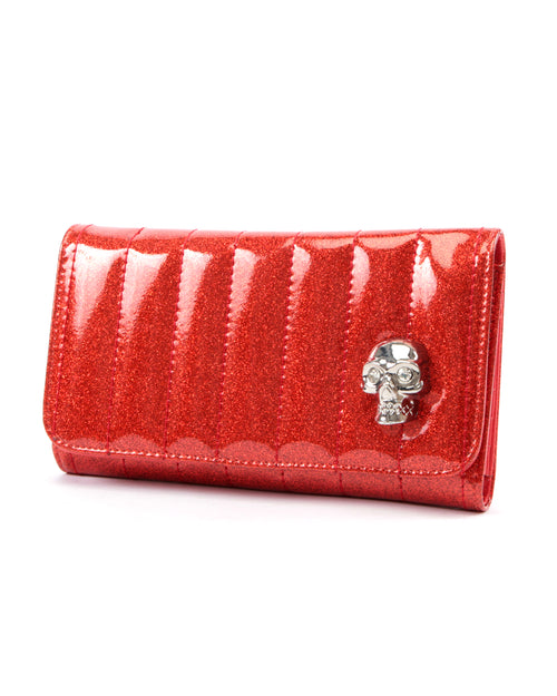 Lady Vamp Wallet Venom Red Sparkle