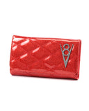 Hot Rod Wallet Venom Red Sparkle - Mini Atomic Totes