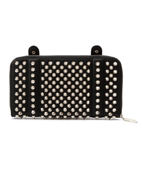 Evil Garden Studded Wallet Clutch - Mini Atomic Totes