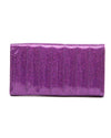 Lady Vamp Wallet Electric Purple Sparkle - Mini Atomic Totes