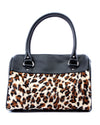 Mini Atomic Tote Leopard and Matte Black - Mini Atomic Totes