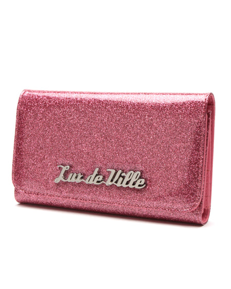 Hot Rod Wallet Pink Bubbly Sparkle