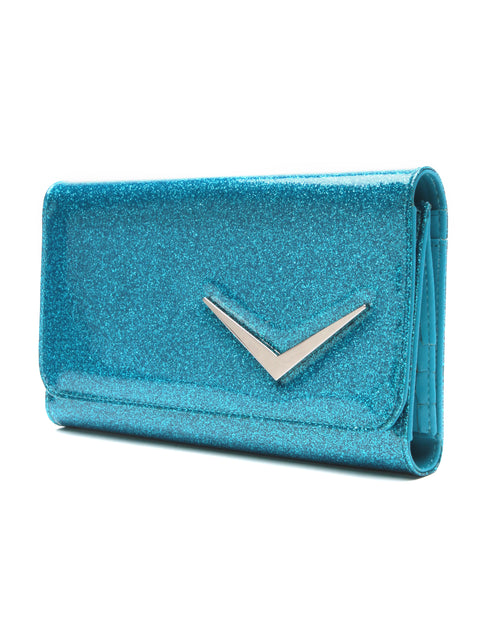 Getaway Wallet Villain Blue Sparkle