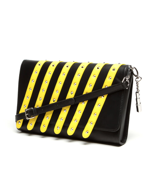 Bob the Drag Queen Purse First Robot Clutch Yellow - Mini Atomic Totes