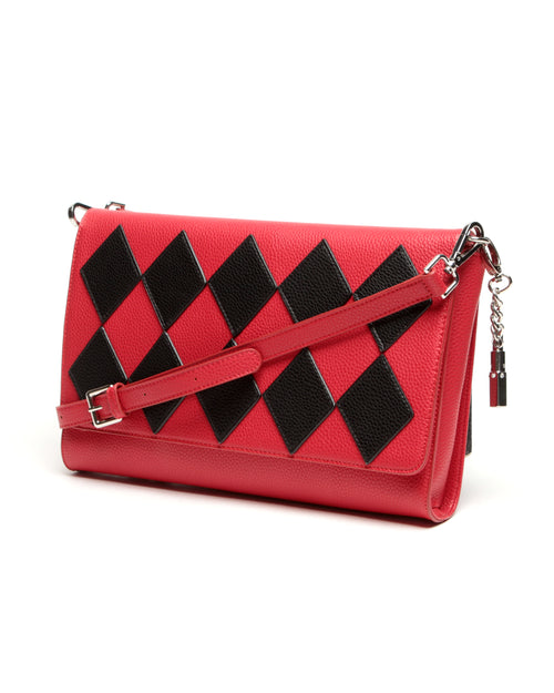 Bob the Drag Queen Purse First Clown Clutch Red - Mini Atomic Totes