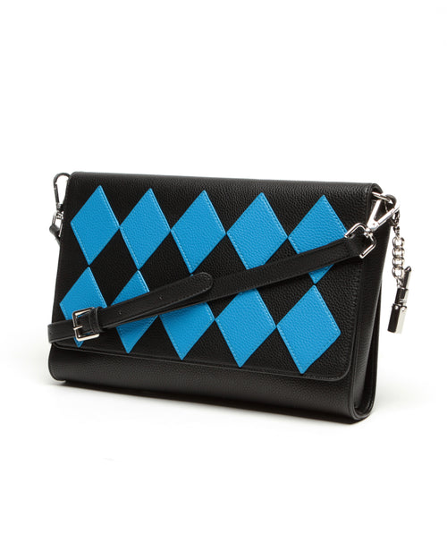 Bob the Drag Queen Purse First Clown Clutch Blue - Mini Atomic Totes