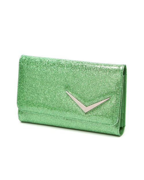 Getaway Wallet Green Envy Sparkle