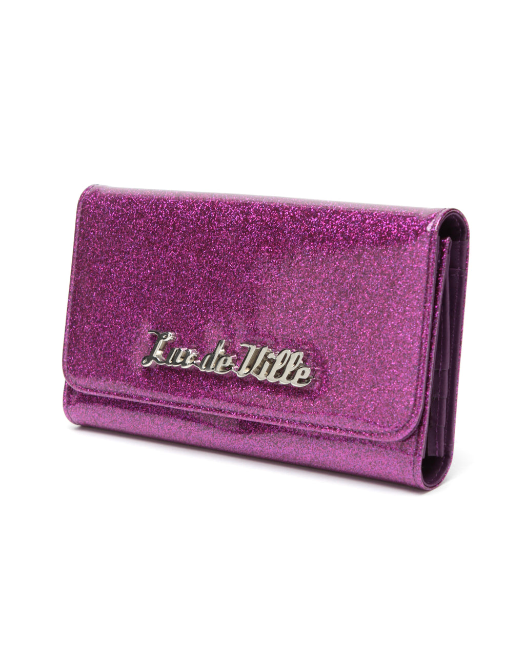 Miss Lux Wallet Electric Purple - Mini Atomic Totes