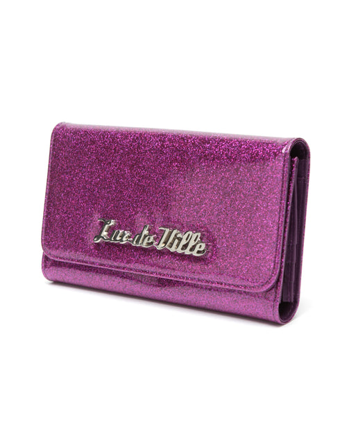 Miss Lux Wallet Electric Purple