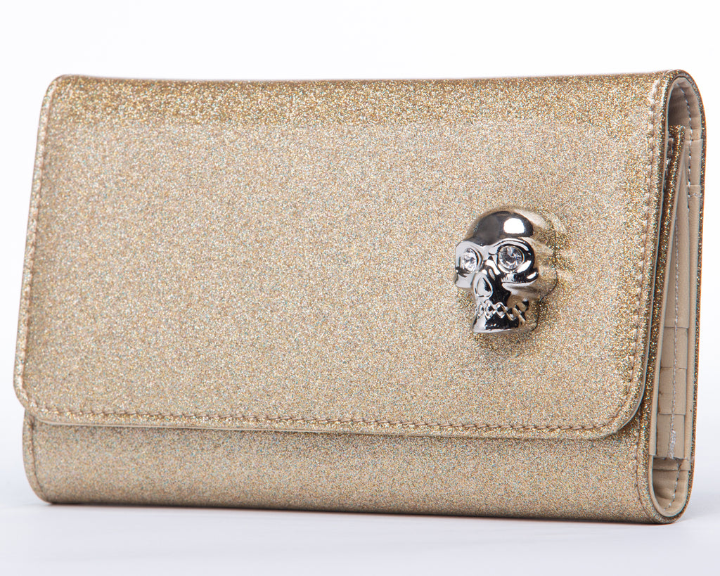 Champagne Sparkle Lady Vamp Wallet
