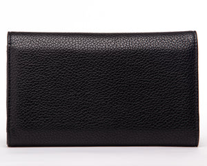 Black Matte Lady Vamp Wallet