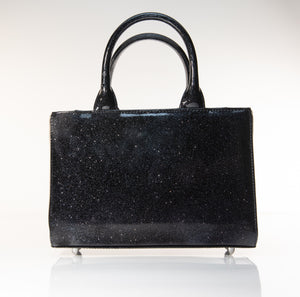 Mini Itsy Bitsy Tote Handbag Midnight Sparkle - Mini Atomic Totes