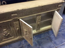 Faux Stone Console Sideboard