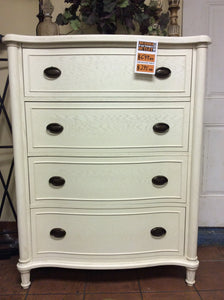 Amity Four Drawer Chest in Antique White