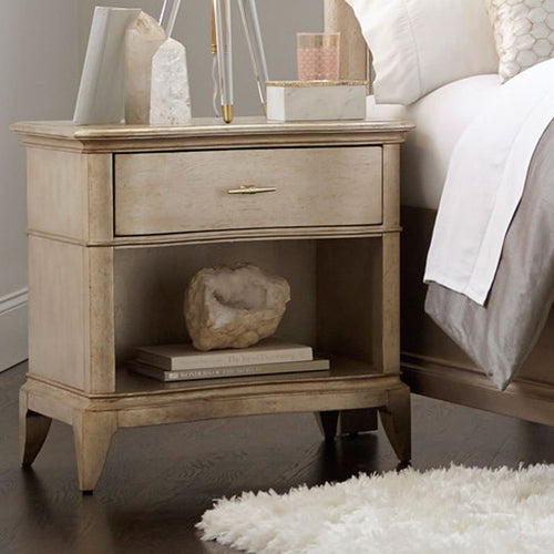 A.R.T. Starlite Glam Nightstand with USB Port