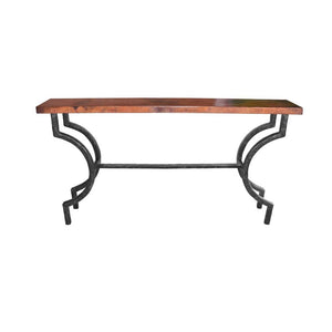 Corinthian Console Table