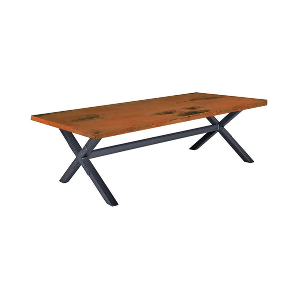 X Brace Cocktail Table