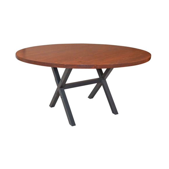 X Brace Dining Table