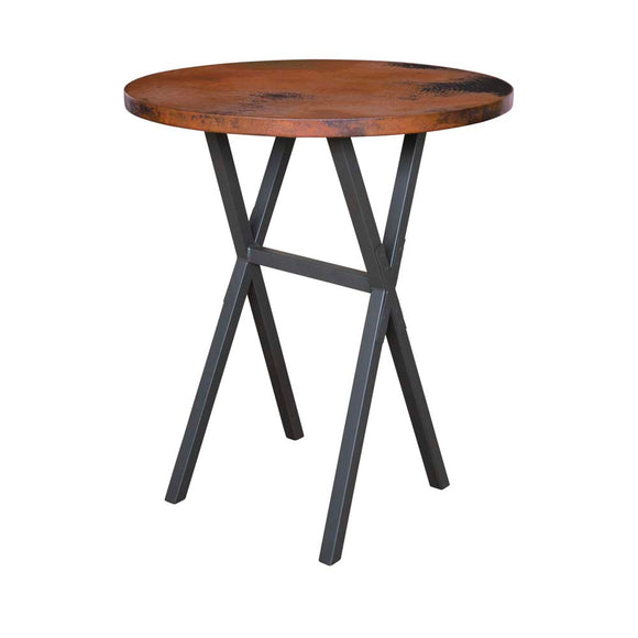 X Brace Bar Table