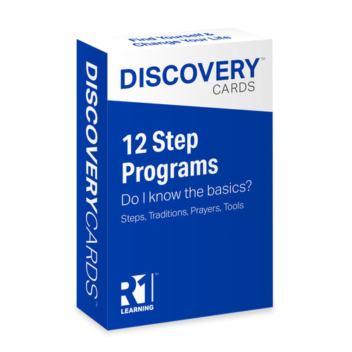12 Step Principles Discovery Cards Deck