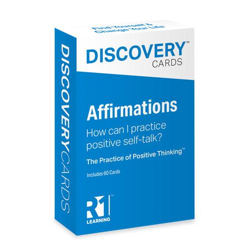 Affirmations Discovery Cards Deck / CCAPP for Consumer Packet for CE