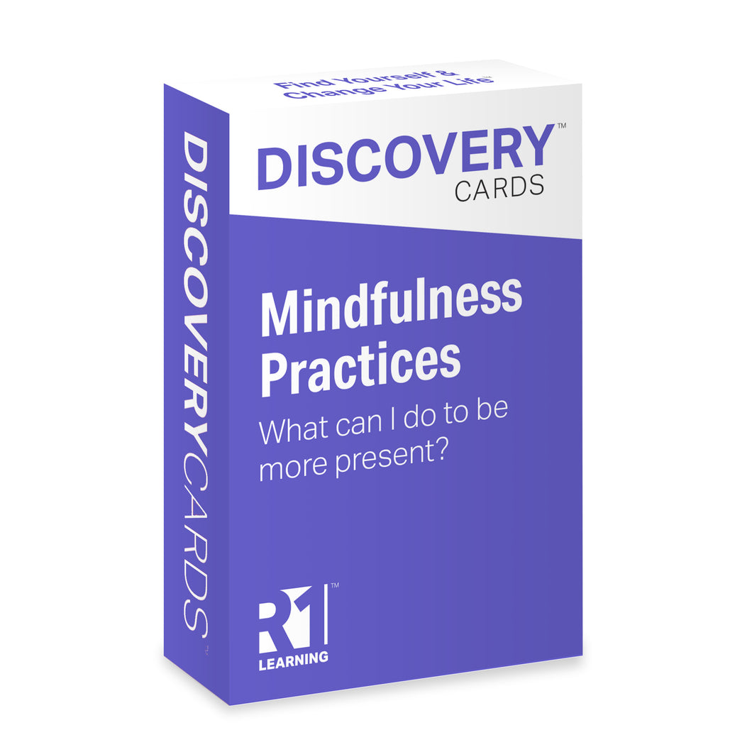 Mindfulness Practices Discovery Cards Deck