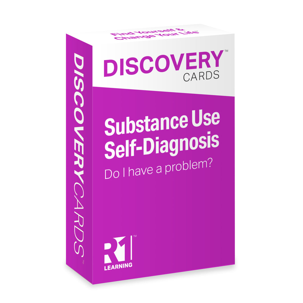 Substance Use Self-Assessment Discovery Cards Deck