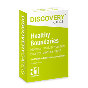 Healthy Boundaries Discovery Cards Deck / CCAPP Consumer Packet for CE