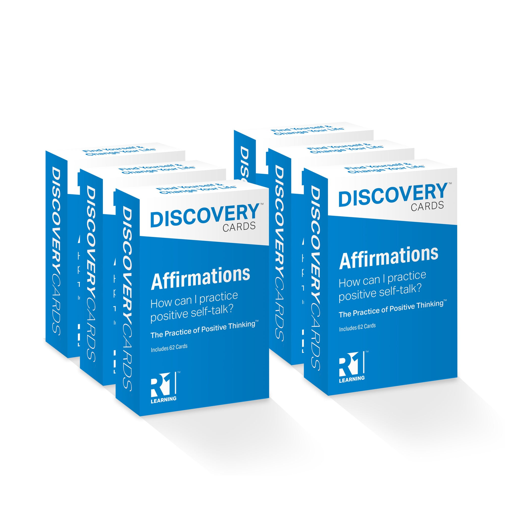 Affirmations Discovery Cards Value Pack