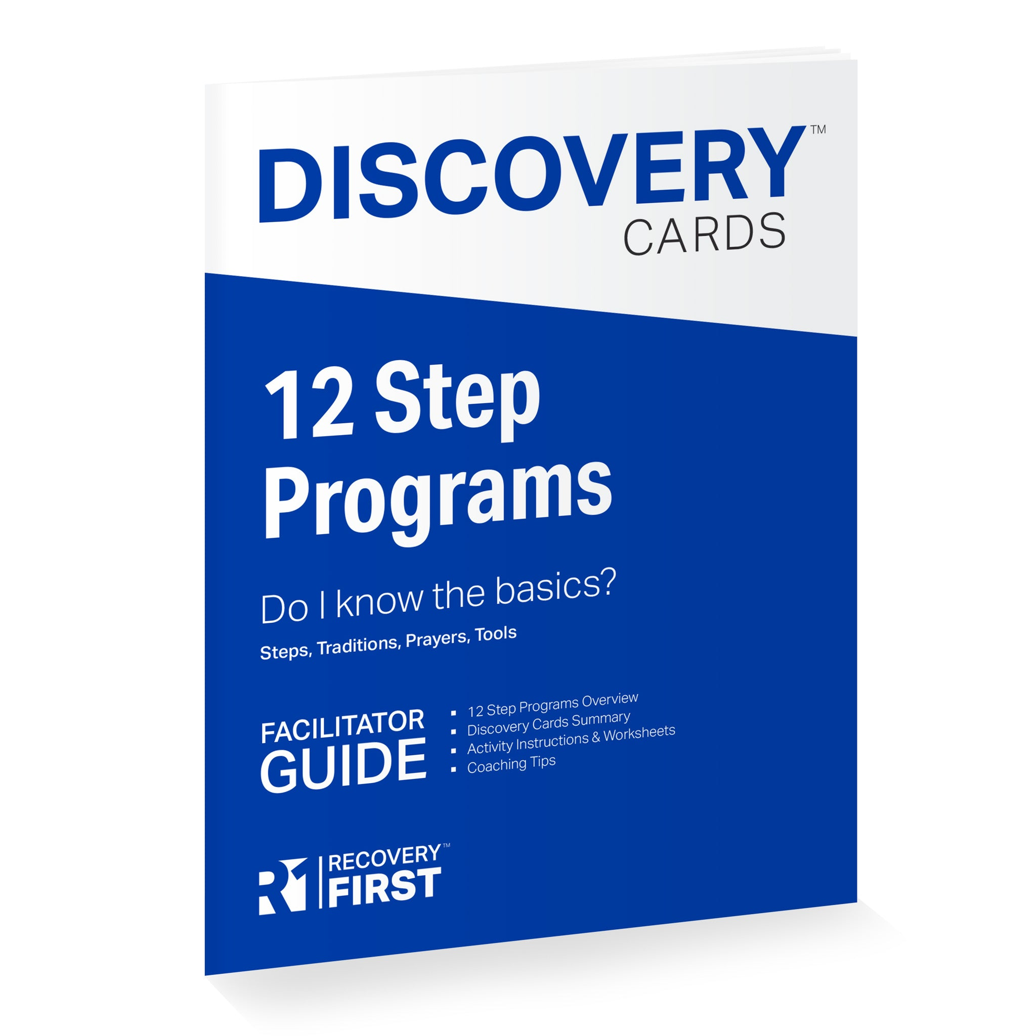 12 Step Programs Discovery Cards Group Starter Kit – R1 Recovery First
