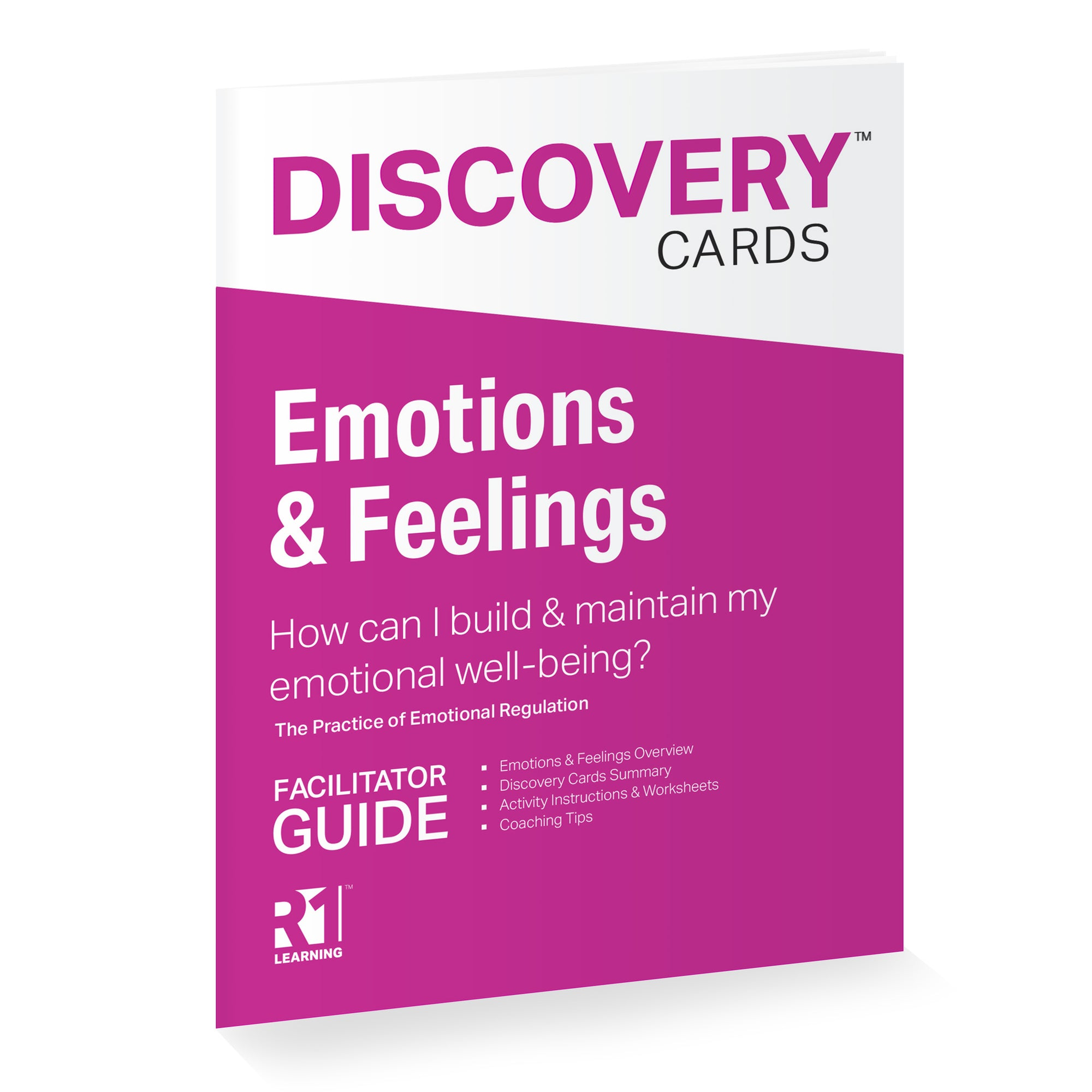 September 18, 1:00–2:30 pm US ET (90 minutes) — Emotions & Feelings Virtual Training